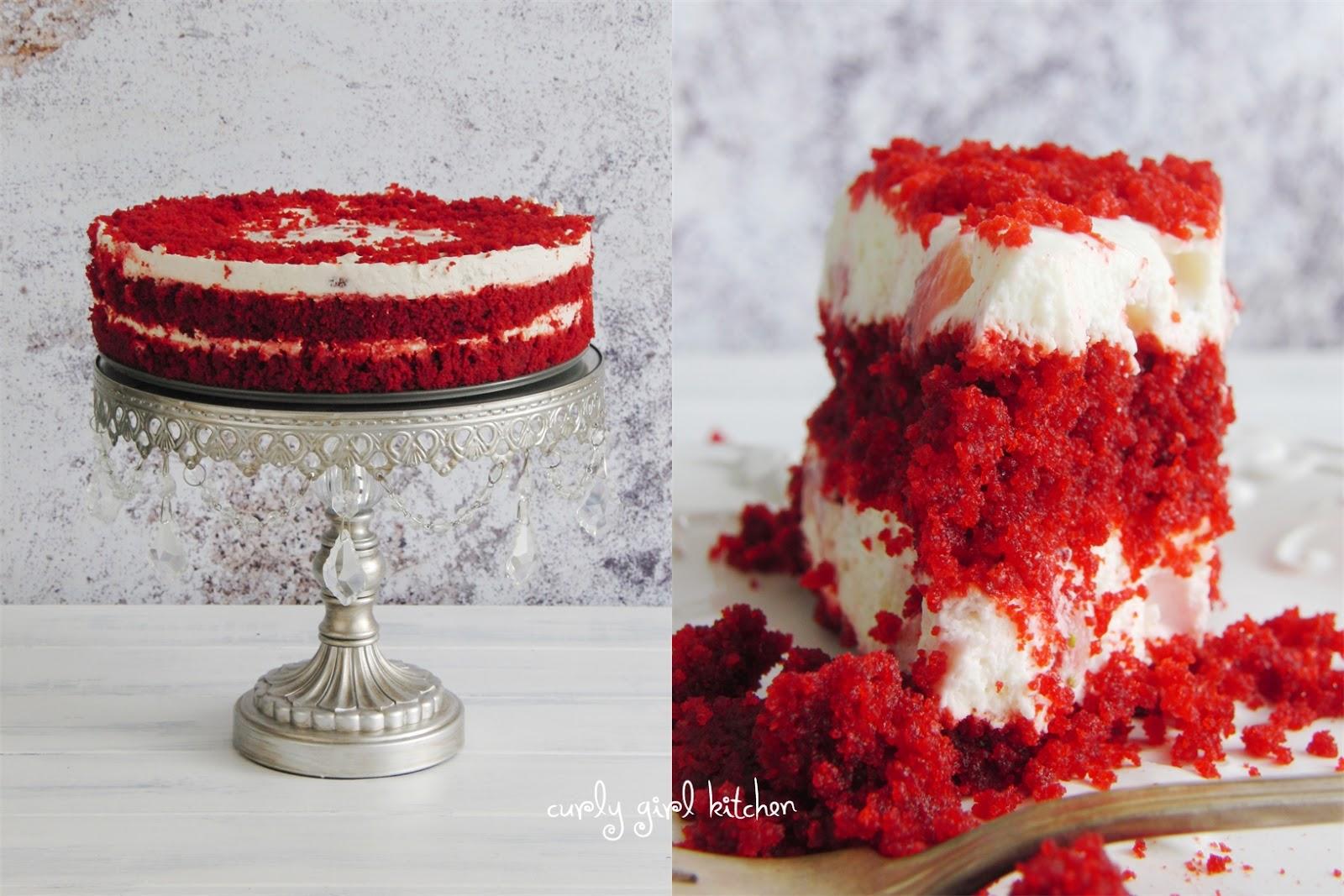 red velvet cake texture. Http://www.curlygirlkitchen.com/2013/06/red- Red Velvet Cake Texture
