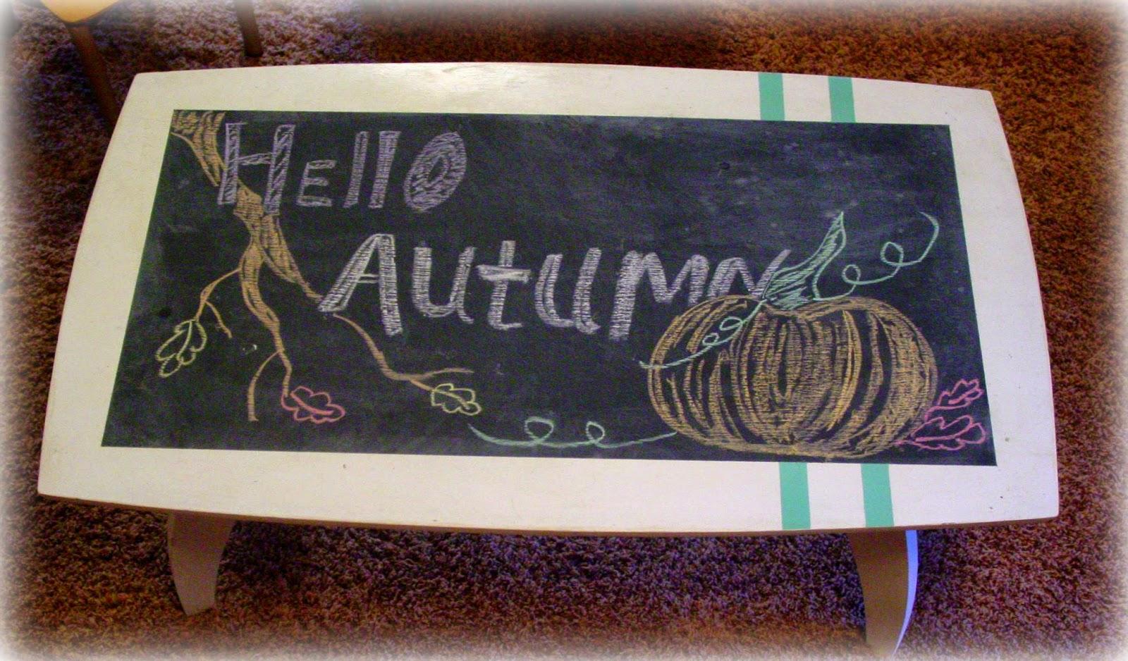 Hello Autumn Drawing Hello Autumn
