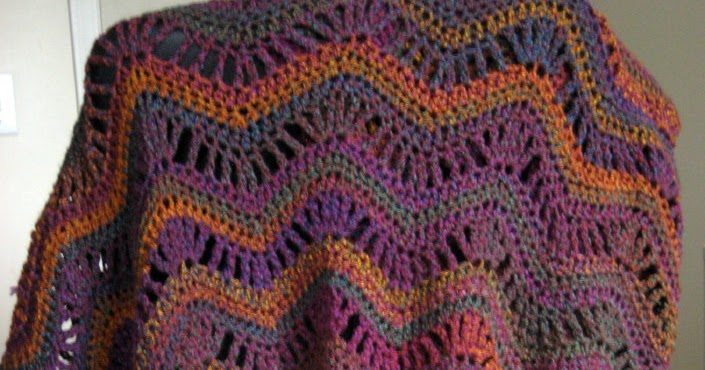 Cthulhu Crochet And Cousins Rolling Ripples Afghan