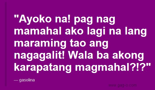 gasolina funny pinoy riddles qoutes
