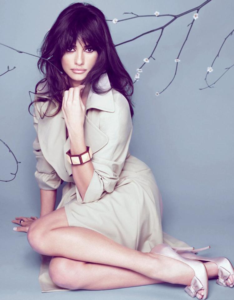 Fashionable Celebrity Hairstyle Penelope Cruz 29