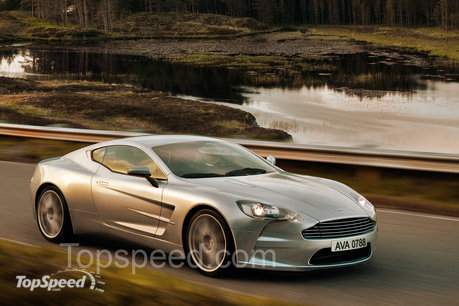 Aston Martin on Aston Martin One 77