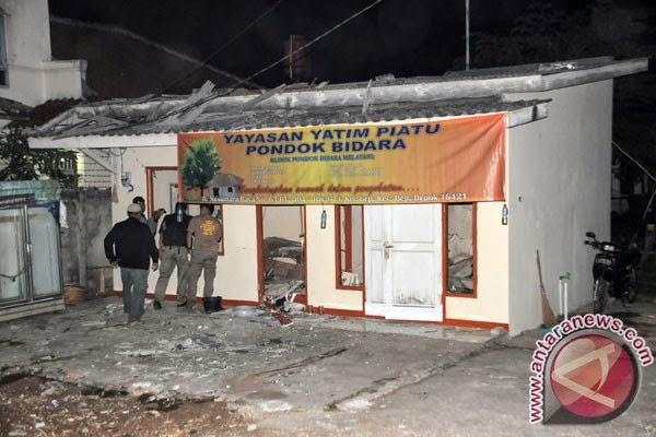 Ledakan terjadi di ITC Depok
