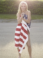 stars and stripes nude sexy american flag julianne hough