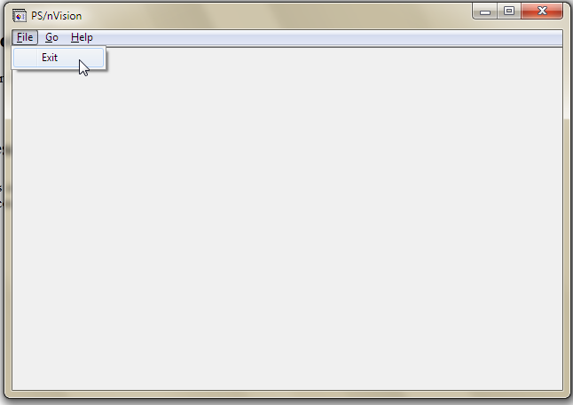 PeopleSoft nVision Issue Resolution nVision Fails to Start – Nvision Peoplesoft