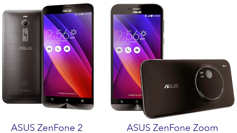 so sánh zenfone 2 vs zenfone zoom