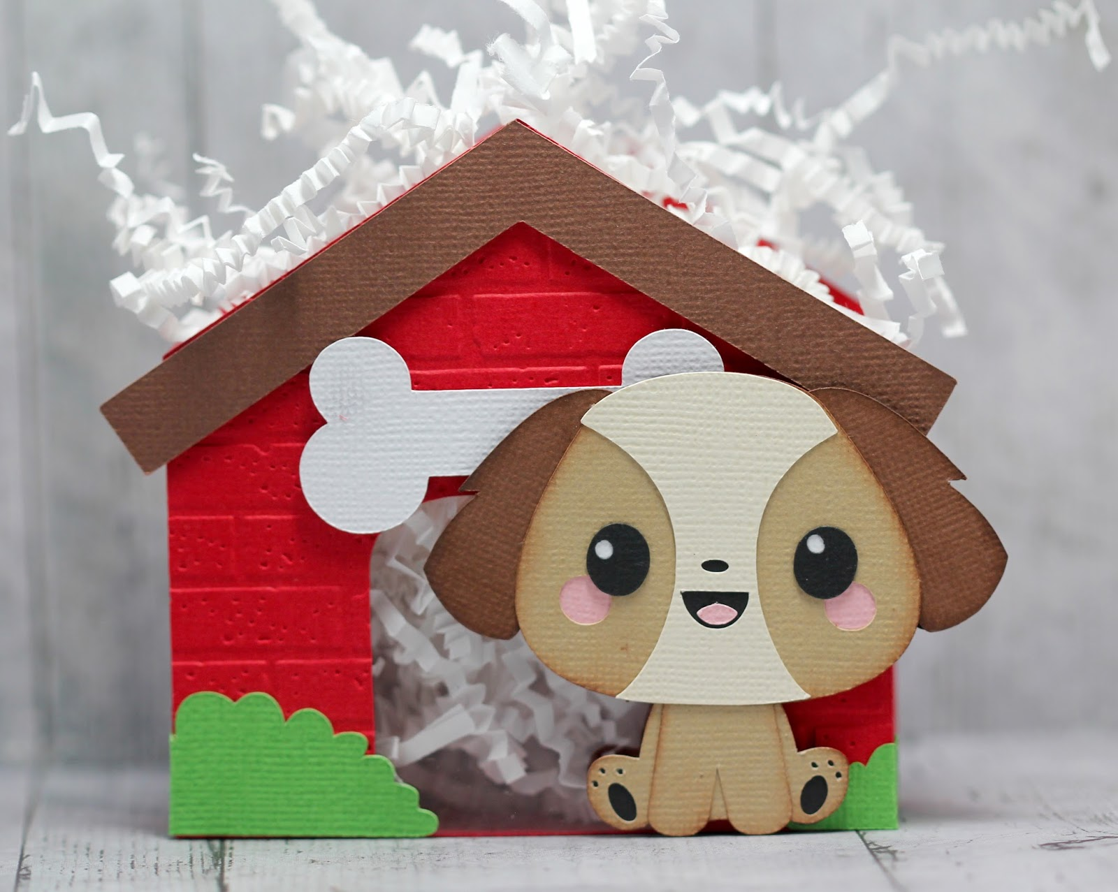 Svg Cutting Files Dog House Treat Boxes