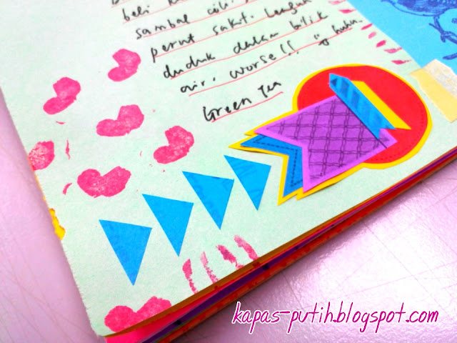 mushy love handmade stamp