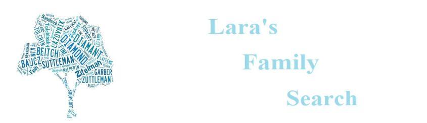 Lara's Family Search