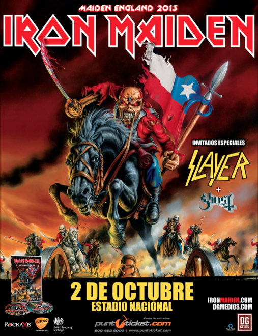 Mas Sobre La Visita De Iron Maiden A Chile Prensa Extrema