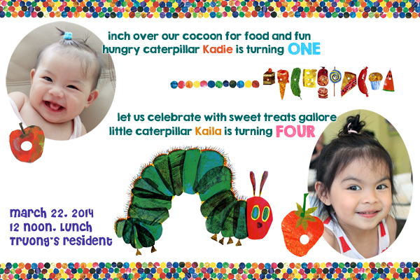 A Very Hungry Caterpillar Birthday Party Tracy Collin Blog