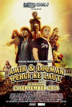 25 SEPT 2014 - AMIR & LOQMAN PERGI KE LAUT