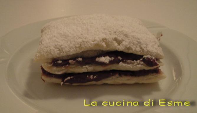 La cucina di esme mini millefoglie con nutella - La cucina di esme ...
