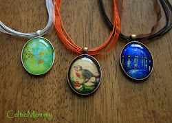 Make your own cabochon pendants