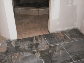 Basement Tiled Camouflage Floor I New Bathroom Tile