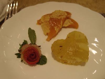 传统年糕与桂花马蹄糕