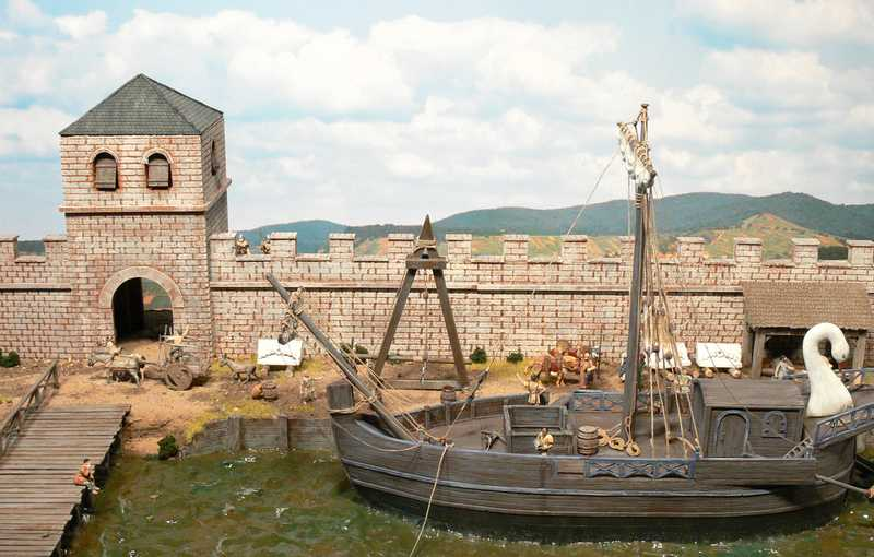 History in 1/72: A Roman harbour and the Roman navy
