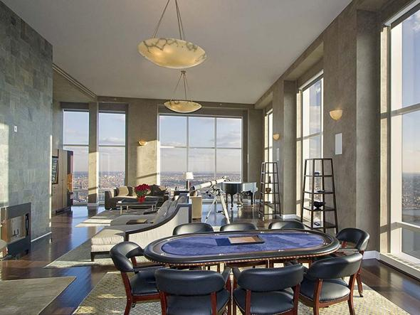 New york city luxury manhattan penthouses derek jeter new for Trump tower new york penthouse