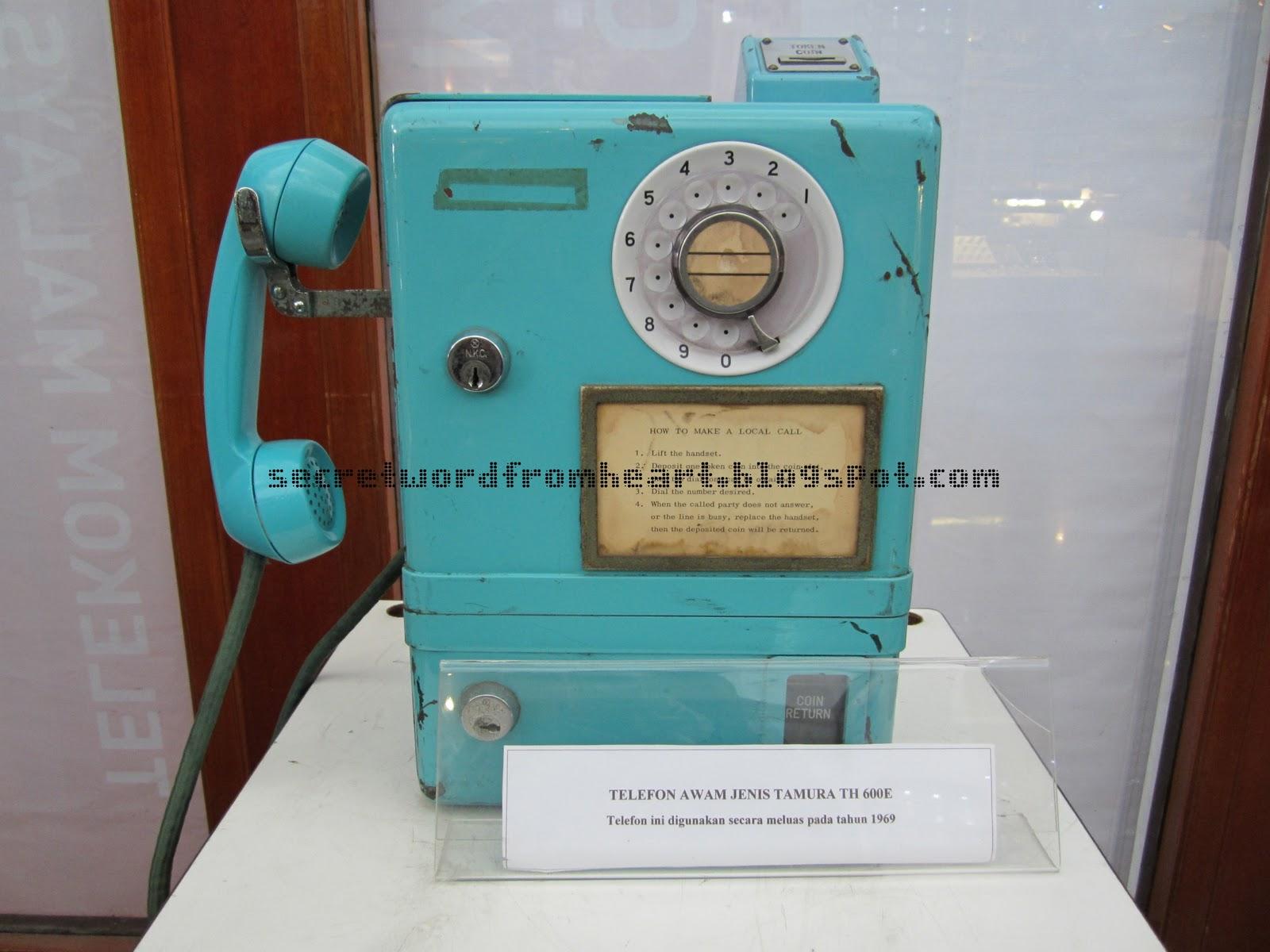 MENARA KUALA LUMPUR - TELEFON BERBUNYI  RING  RING  RING
