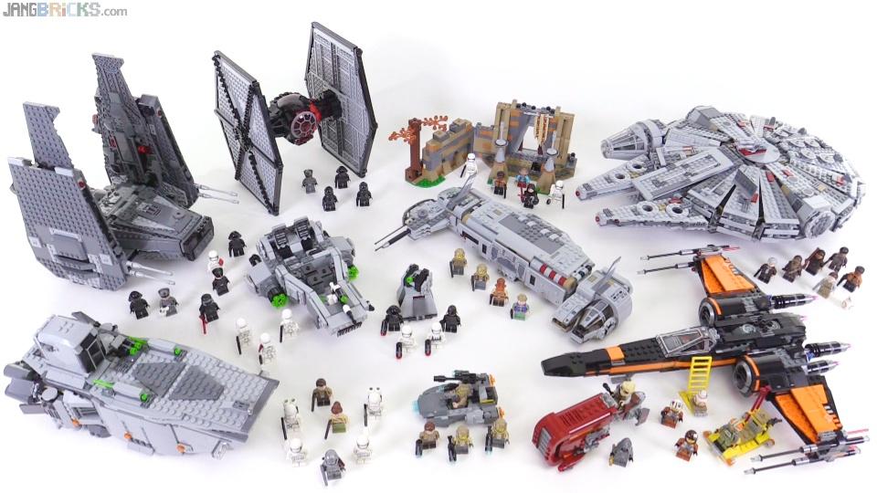lego star wars force awakens sets