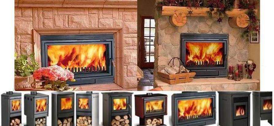 Fotos de chimeneas estufas de le a bosca for Construccion de chimeneas de lena