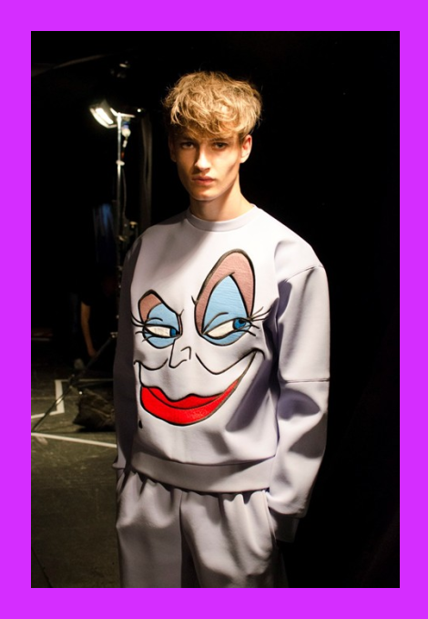 Bobby Abley SS15 inspired by 'The Little Mermaid'