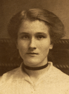 Picture of Bopcha as a young woman