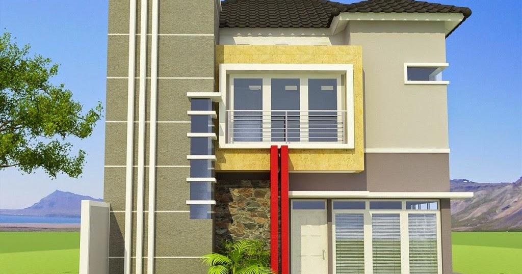 contoh rumah 2 lantai contoh rumah minimalis