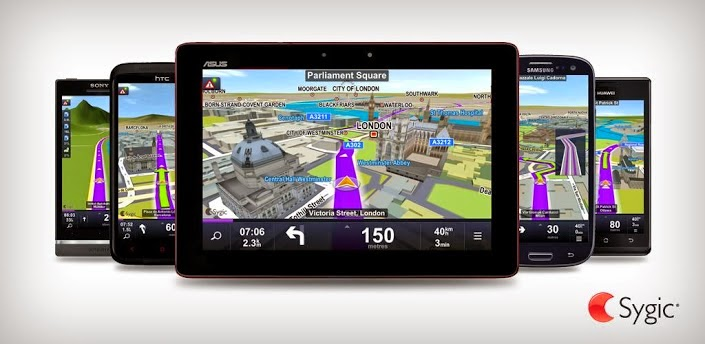 SYGIC GPS Navigasi Apk for Android