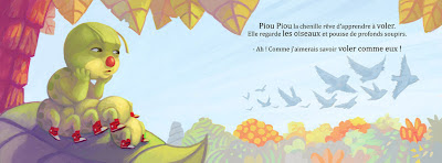 Pereira Samuel, piou piou, jeannick elard, nord avril, album, illustration, images