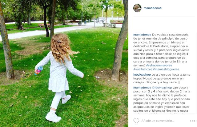 Blog infantil Mama de Noa - Vuelta al cole - #mamasblogueras
