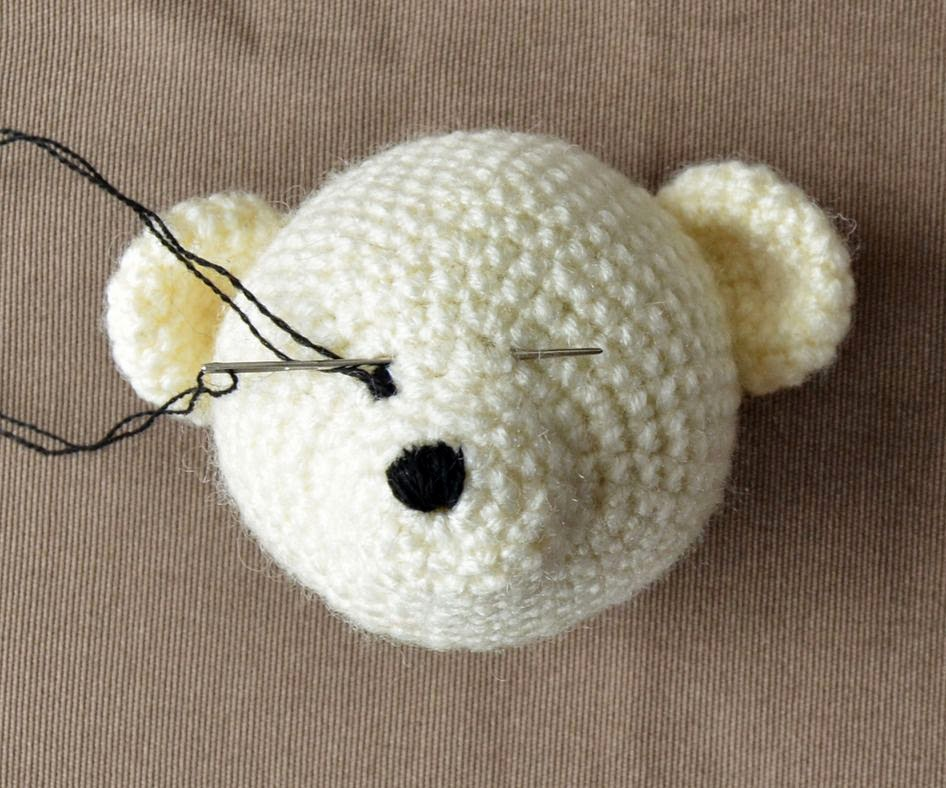 Crochet Eyes : ... Personal Touch to Amigurumi LillaBj?rns Crochet World
