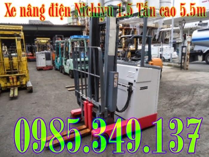 Xe nâng điện qua sử dụng Nichiyu