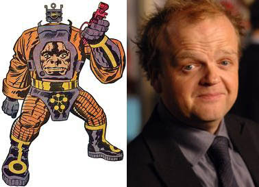 Toby Jones and Arnim Zola images