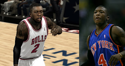 NBA 2K13 Nate Robinson Realistic Player