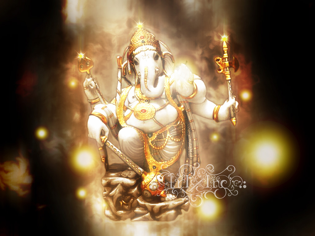 lord ganesha wallpaper computer background - photo #11