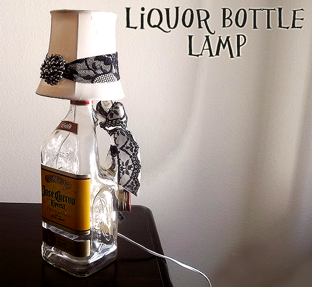 Jose Cuervo Tequila Bottle Lamp
