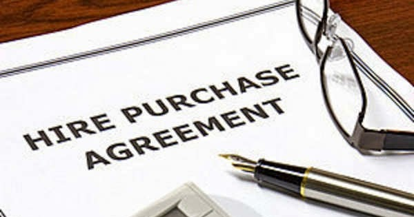 Hire Purchase Agreement Balohpedia