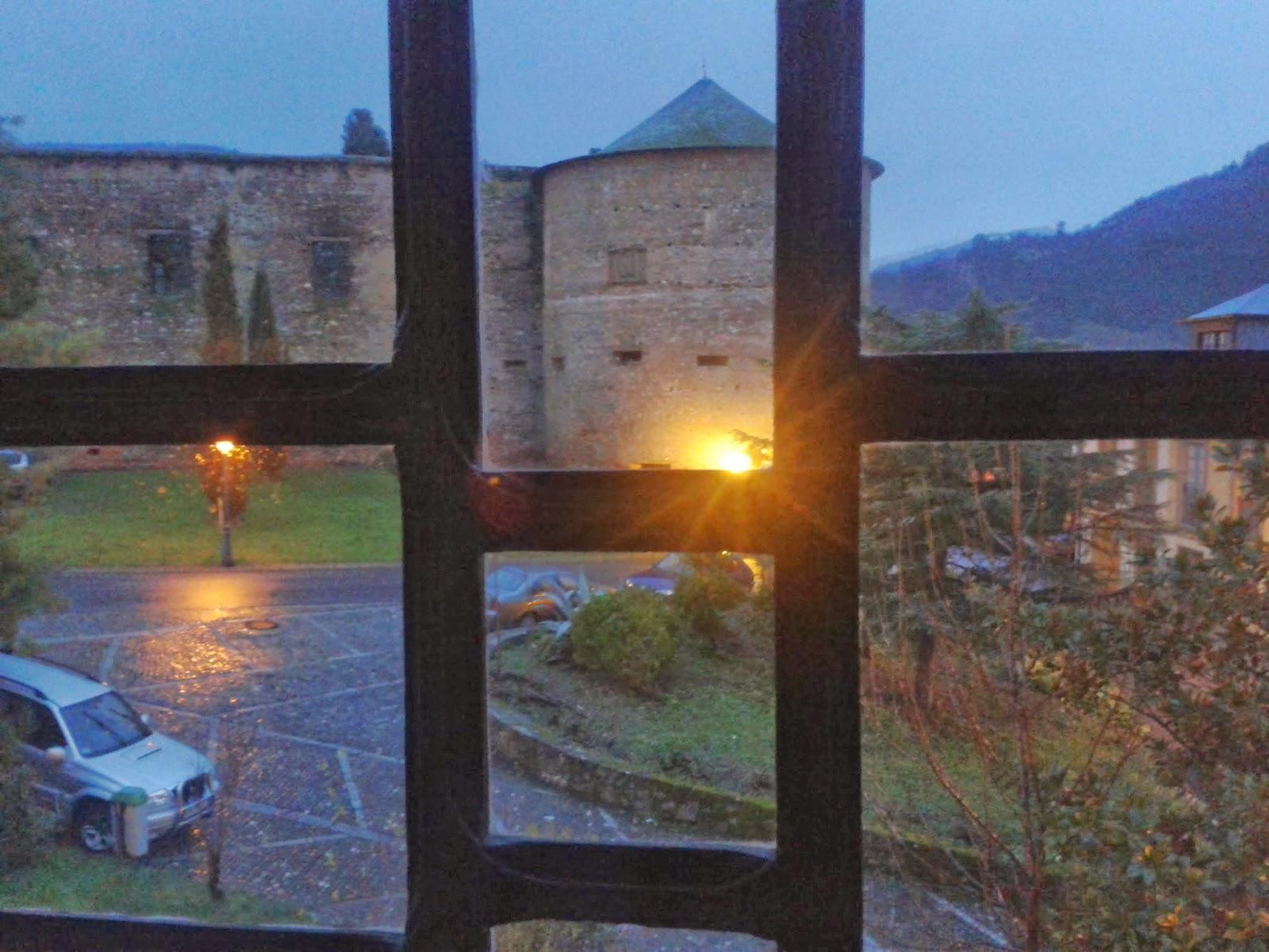 Castillo de Villafranca desde la Puerta del perdon