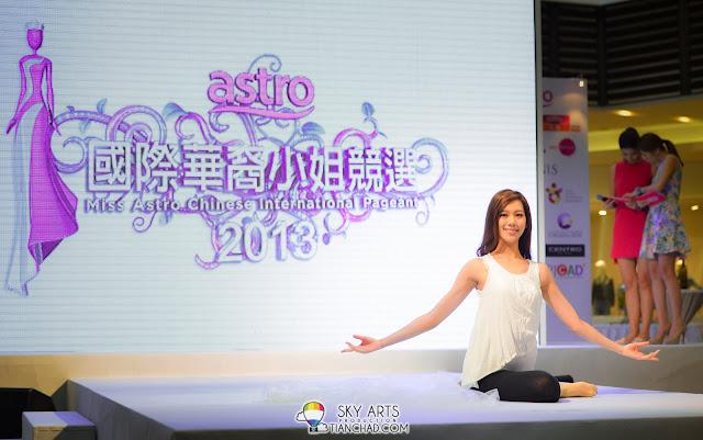 Zhiny's dance performance definitely impressed me. She is very flexible and elegant