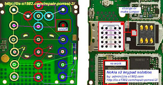 Nokia X2 00 Keypad Jumper Solution
