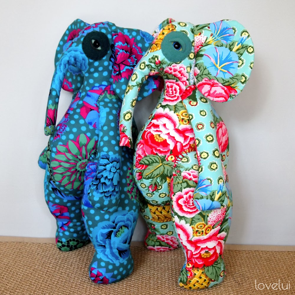 handmade elephants lovelui