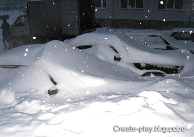 Снегом занесло