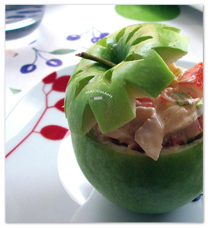 manzana de coctel de marisco