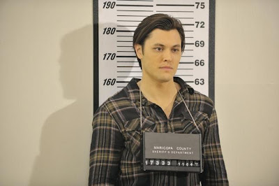 Ethan gets his mug shot on The Lying Game