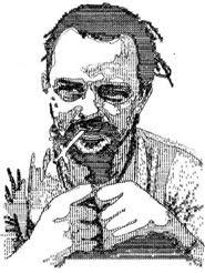 lukisan dari mesin tik