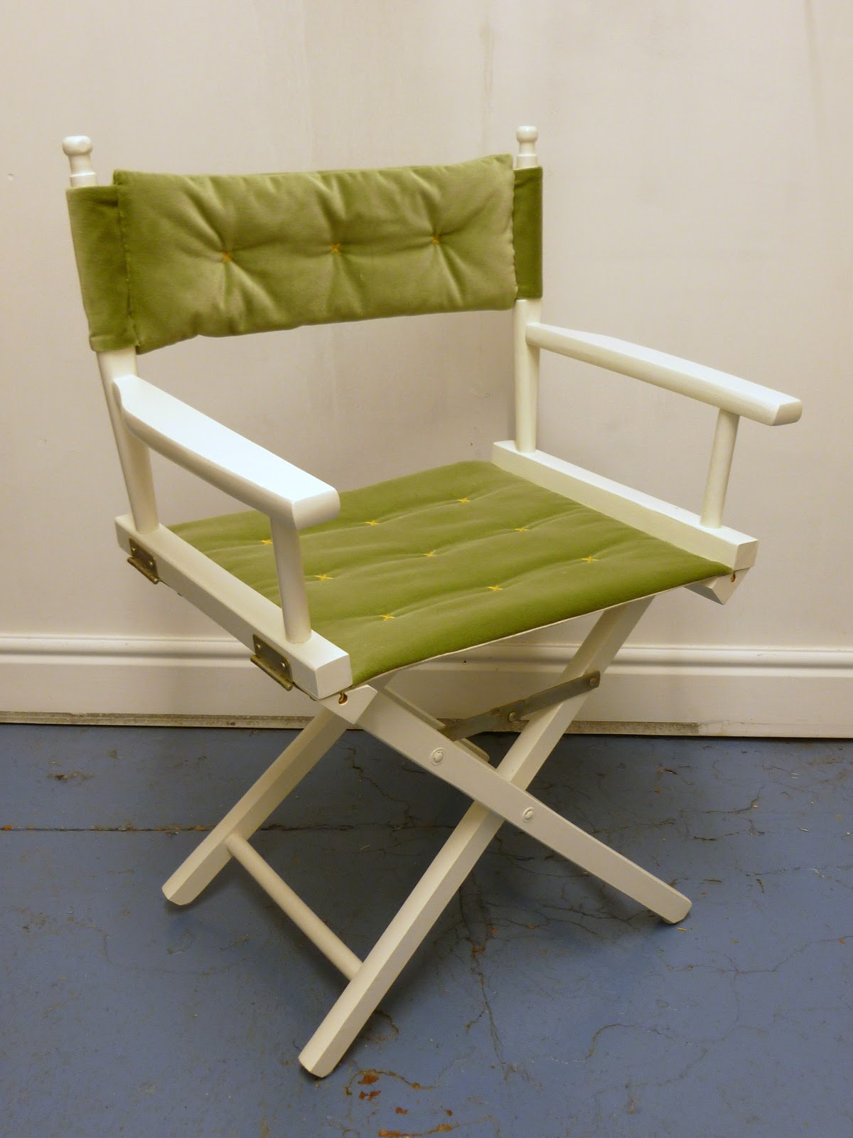 up cycled directors chair abigail dace london