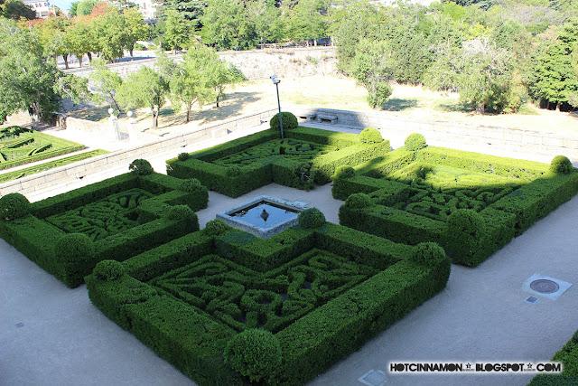 Jardines de San Lorenzo del Escorial