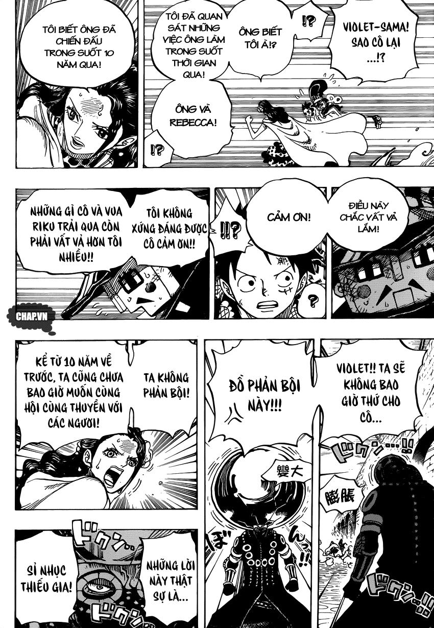 One Piece Chapter 740: Gửi trọn niềm tin 010