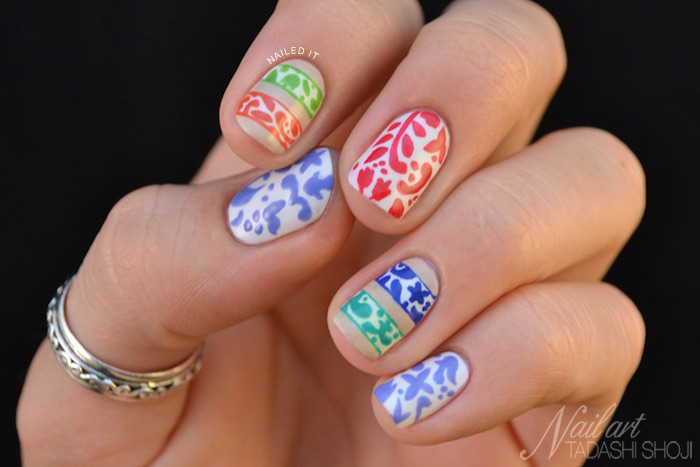 Tadashi Shoji Nail Art Competition - Nailed It | The Nail Art Blog